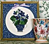 Click for more details of Tea! (cross stitch) by Rosewood Manor
