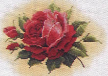 Click for more details of Tea Garden (cross-stitch pattern) by Lavender & Lace