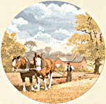 Click for more details of Teamwork (cross stitch) by John Clayton