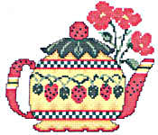 Click for more details of Teapots (cross-stitch pattern) by Imaginating