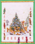 Click for more details of Teddy Advent Calendar (cross-stitch kit) by Eva Rosenstand