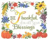 Click for more details of Thankful (cross-stitch pattern) by Imaginating