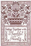 Click for more details of Thankful Hearts (blackwork) by Imaginating