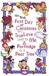 Click for more details of The 12 Days of Christmas Collection (cross-stitch) by Donna Vermillion