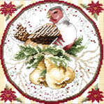 Click for more details of The 12 Days of Christmas with Ornaments (cross-stitch pattern) by Stoney Creek