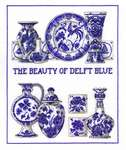 Click for more details of The Beauty of Delft Blue (cross-stitch kit) by Permin of Copenhagen