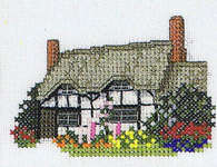 Click for more details of The Cross Stitcher's Guide to Britain - British Cottages (cross-stitch pattern) by Sue Ryder