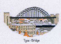 Click for more details of The Cross Stitcher's Guide to Britain - North-East England (cross-stitch pattern) by Sue Ryder