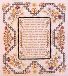 Click for more details of The Garden Flowers (cross-stitch pattern) by Rosewood Manor