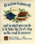 Click for more details of The Graduate (cross-stitch pattern) by Sue Hillis Designs