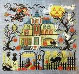 Click for more details of The Great Cheshire Pumpkin (cross stitch) by Tempting Tangles Designs