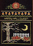 Click for more details of The Halloween Company (cross-stitch pattern) by Sue Hillis Designs
