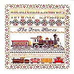 Click for more details of The Iron Horse (cross-stitch pattern) by Ginger & Spice