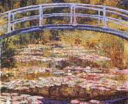 Click for more details of The Japanese Footbridge by Claude Monet (cross-stitch pattern) by The Fine Arts Heritage Society