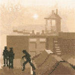 Click for more details of The Lock (cross stitch) by Phil Smith