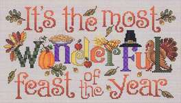 Click for more details of The Most Wonderful Feast (cross-stitch) by Sue Hillis Designs