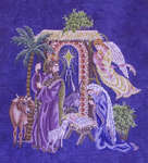 Click for more details of The Nativity (cross-stitch) by Glendon Place