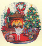 Click for more details of The Night Before Christmas (cross-stitch pattern) by Bobbie G. Designs