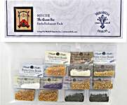 Click for more details of The Queen Bee Embellishment Pack (beads and treasures) by Mirabilia Designs