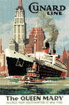 Click for more details of The Queen Mary (cross-stitch pattern) by Sue Ryder