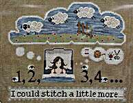 Click for more details of The Sleepless Stitcher (cross stitch) by puntiniputini