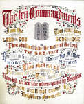 Click for more details of The Ten Commandments (cross-stitch) by Cross 'N Patch