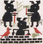 Click for more details of The Three Pigs (cross stitch) by The Prairie Schooler