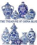 Click for more details of The Treasure of China Blue (cross-stitch kit) by Permin of Copenhagen