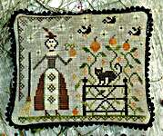 Click for more details of The Witch's Garden (cross stitch) by Pineberry Lane