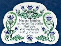 Click for more details of Thistle Do Nicely (cross stitch) by Glendon Place