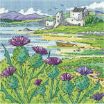 Click for more details of Thistle Shore (cross stitch) by Karen Carter