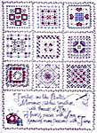 Click for more details of Threads of Joy (cross-stitch pattern) by Ursula Michael Designs
