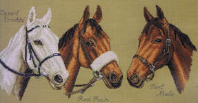 Click for more details of Three Champions (cross stitch) by Anchor