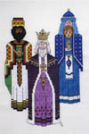 Click for more details of Three Kings (cross-stitch) by K. Elaine Kramer