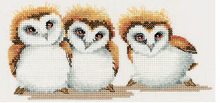 Click for more details of Three Little Maids (cross-stitch kit) by Valerie Pfeiffer