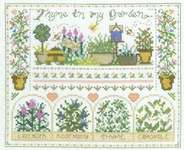 Click for more details of Thyme in my Garden (cross-stitch) by Imaginating