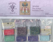 Click for more details of Tree of Hope Embellishment Pack (beads and sequins) by Mirabilia Designs