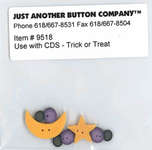 Click for more details of Trick or Treat Buttons (beads and sequins) by Just Another Button Company
