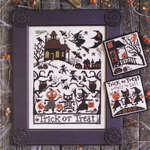 Click for more details of Trick or Treat (cross-stitch pattern) by The Prairie Schooler