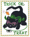 Click for more details of Tricky Kitty (cross-stitch pattern) by Imaginating