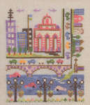Click for more details of Troubles Waters (cross-stitch pattern) by Ink Circles