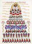Click for more details of Twelve Days of Christmas (cross-stitch pattern) by Donna Vermillion