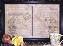 Click for more details of Twin Samplers (cross-stitch) by Rosewood Manor