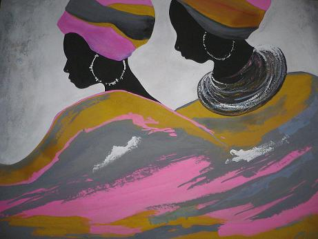 Click for more details of Twins (watercolour on paper) by Abhilasha Singh