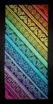 Click for more details of Twisted Rainbow Sampler (cross stitch) by Northern Expressions Needlework