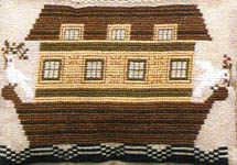 Click for more details of Two by Two (cross-stitch pattern) by The Prairie Schooler