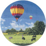 Click for more details of Up and Away (cross stitch) by John Clayton