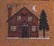 Click for more details of Up on the Housetop (cross stitch) by The Prairie Schooler