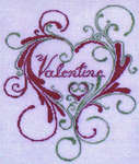 Click for more details of Valentine (cross-stitch pattern) by Keslyn's