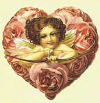 Click for more details of Valentine Love Heartwarming Vintage Stickers (adhesives) by Crafty Secrets Publications